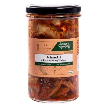 Kimchi z ogórkiem kiszonym 480g